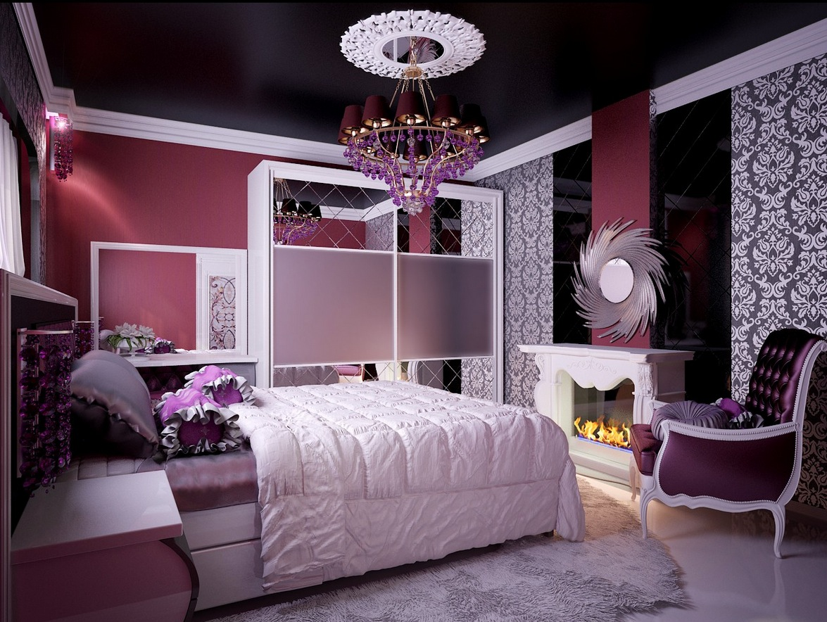 25 Bedroom Paint Ideas For Teenage Girl - RooHome ... on Beautiful Room Design For Girl  id=71936