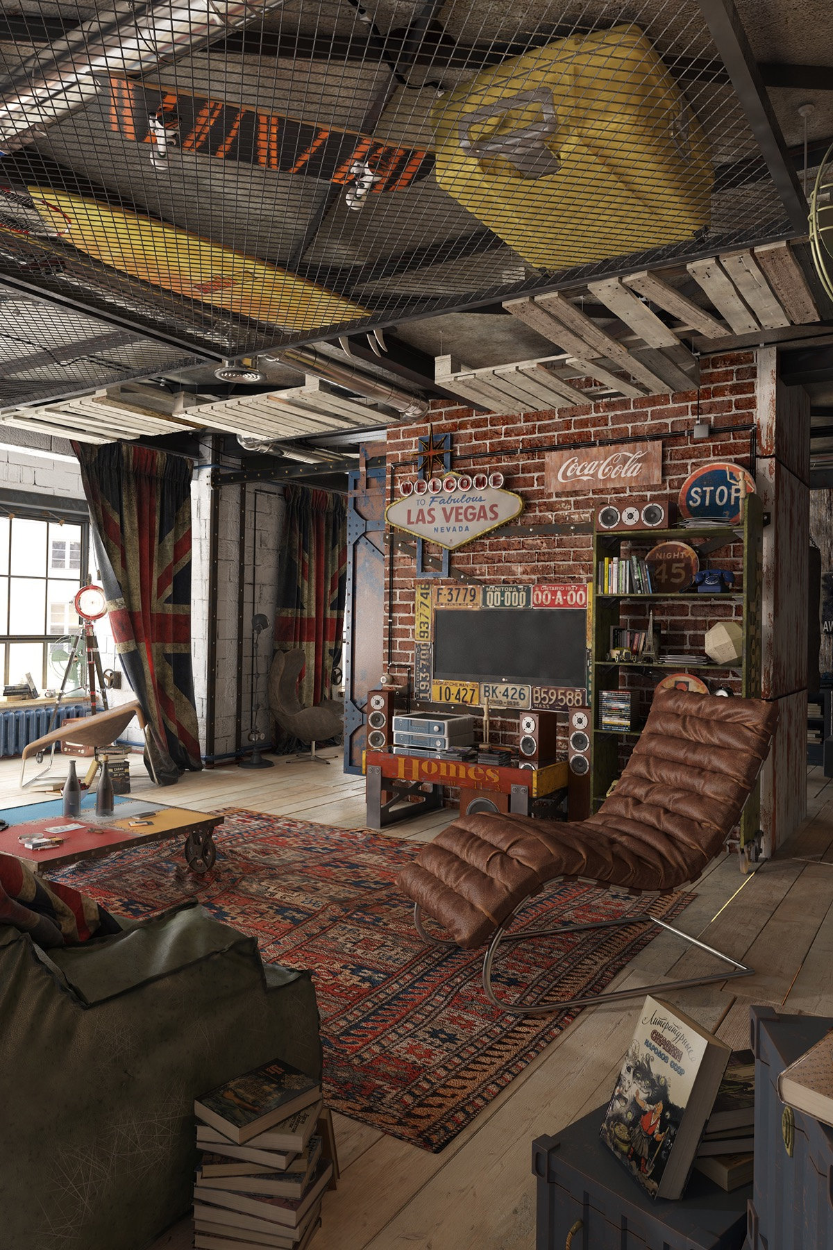 Man Cave Loft Ideas : Man cave garage with loft