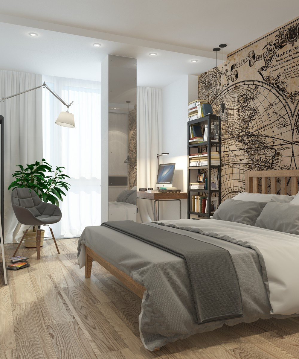 10 Bedroom Designs With Elegant and Awesome Color Themes ... on Bedroom Minimalist Design Ideas  id=47401