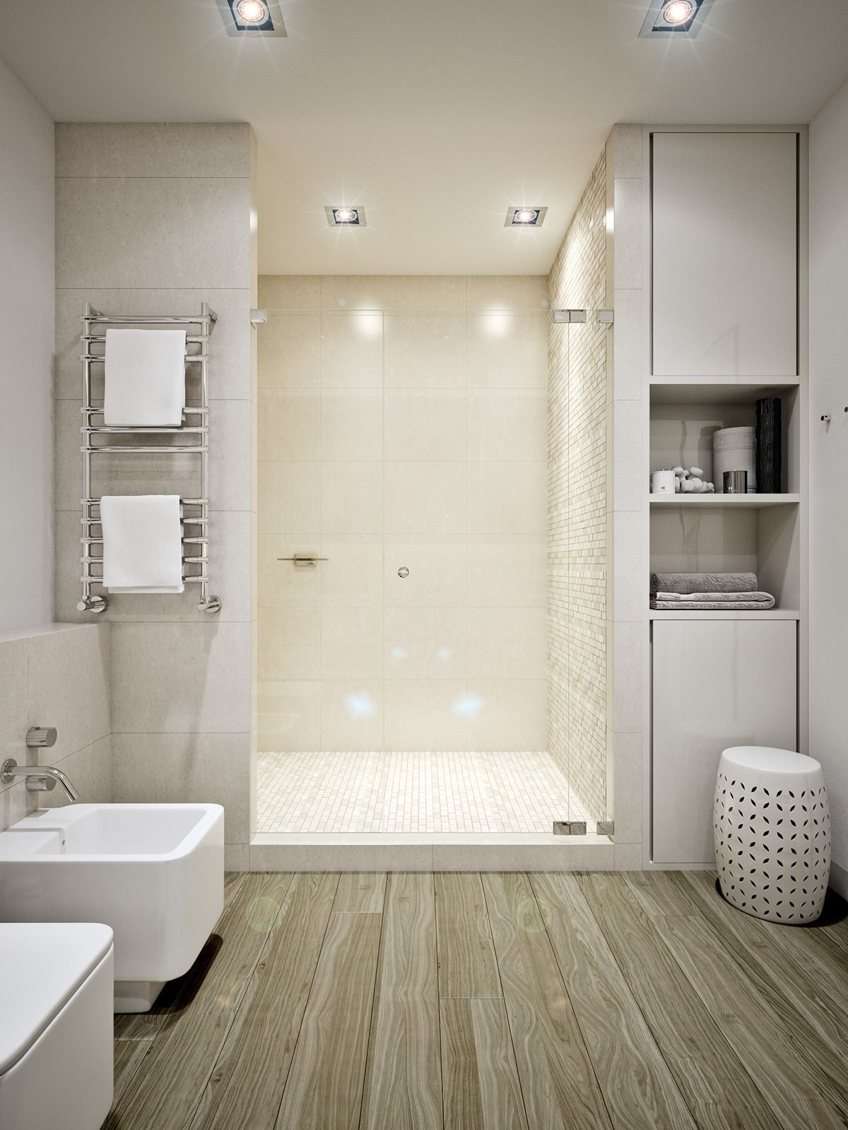 Small Apartment Design For Couples With White Color Scheme ... on Bathroom Ideas Apartment  id=93922