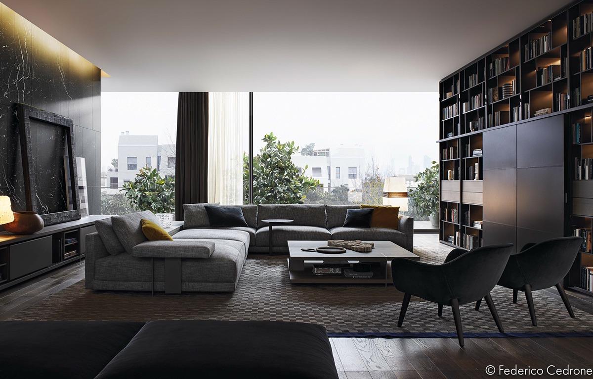 3 Unique Living Room Interior Design Theme And Color