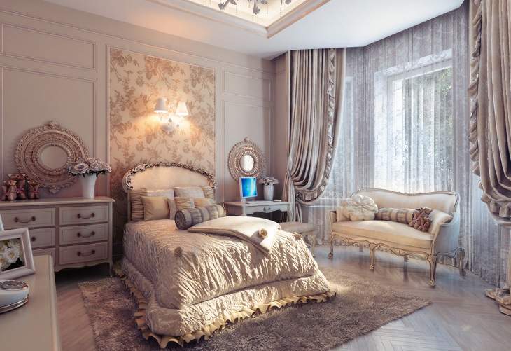 13 Classic Bedroom Themes For Small Rooms   RooHome Happy Irena Classic bedroom themes