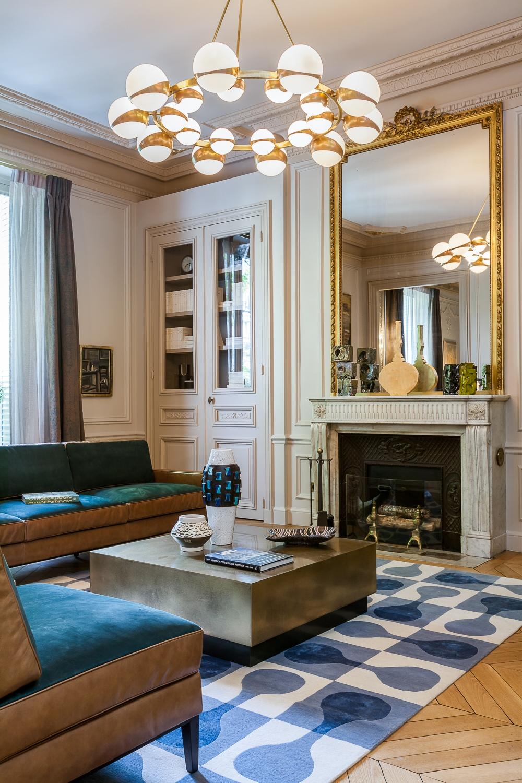 Modern Luxury Apartment Interior Design by Mathieu Fiol ...