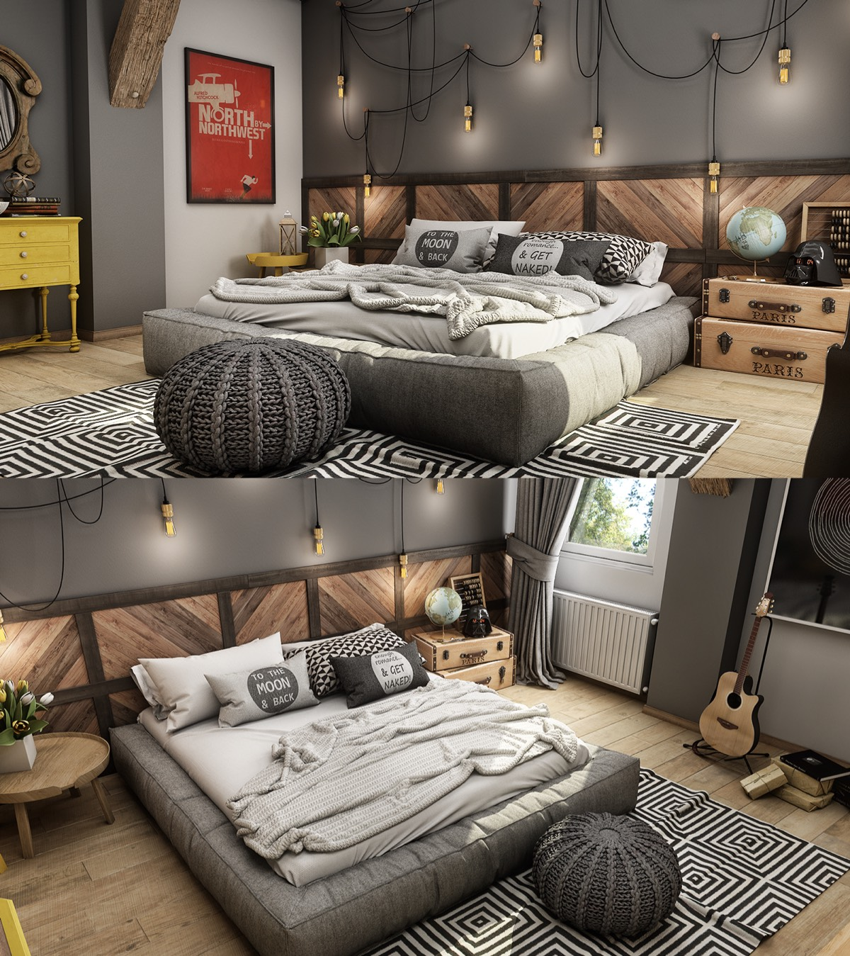 7 Teenage Bedroom Design Ideas Which Is Cool and Unique ... on Teenager Room Decor  id=82727