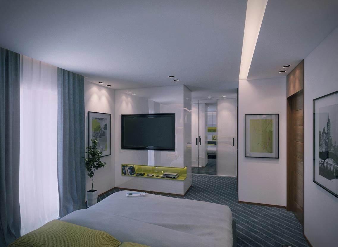 2 Contemporary Apartment Design Ideas By Mahmoud Keshta