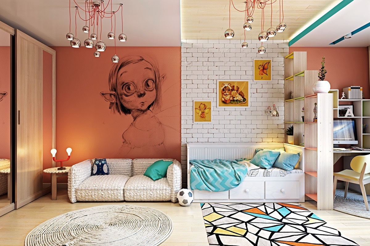 Types Of Kids Room Decorating Ideas And Inspiration For ... on Room Wall Decor id=70766