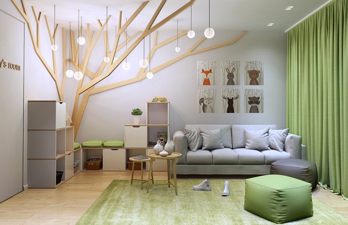 Types Of Kids Room Decorating Ideas And Inspiration For ... on Room Decoration  id=79315