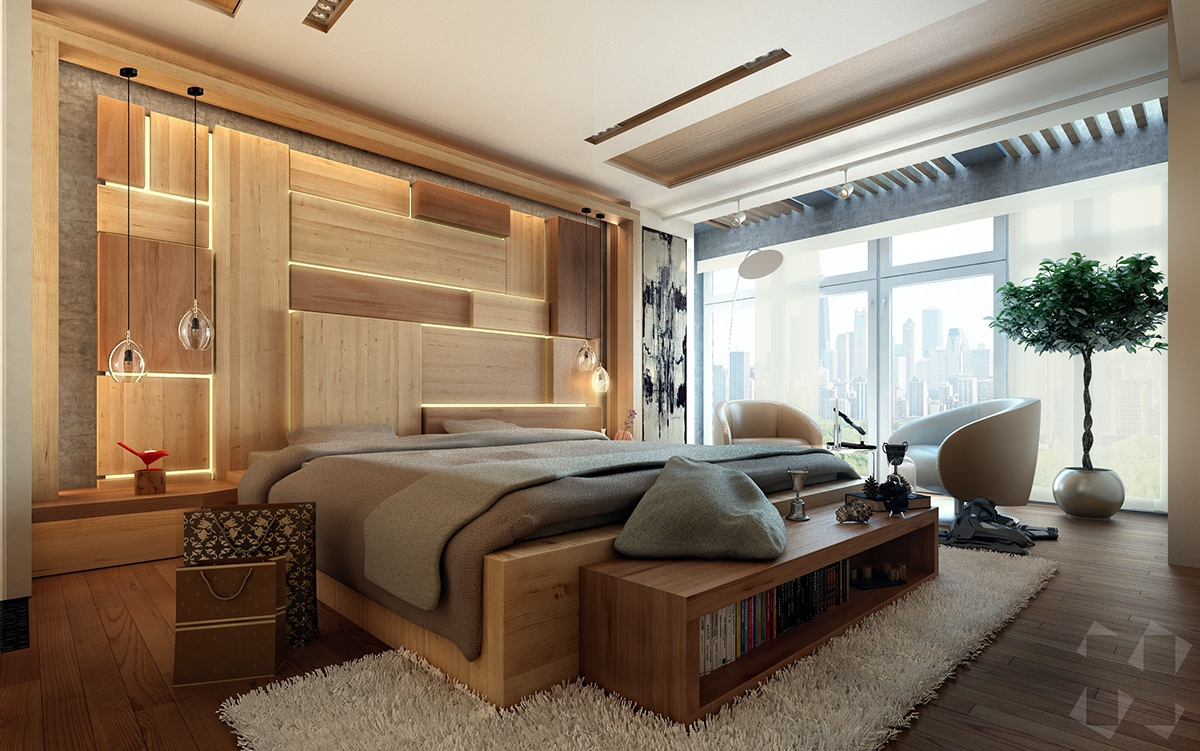 luxury bedroom designs with a variety of contemporary and ... on Bedroom Decor  id=98542