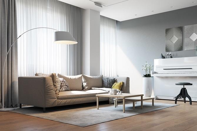 Minimalist Living Room Idea Brings Coziness Inside Your ... on Minimalist Living Room Design  id=24432