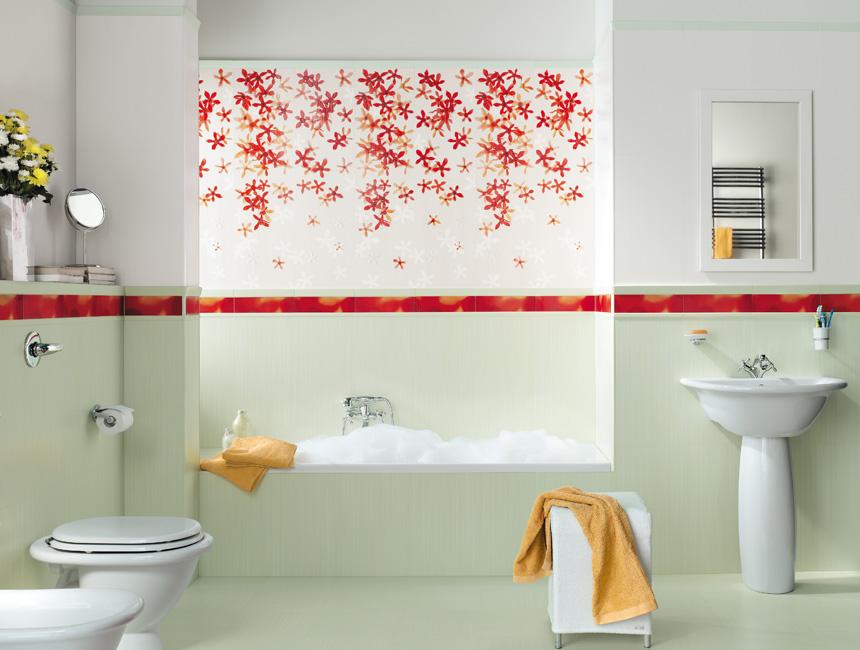 Minimalist Bathroom Design Ideas With Cool and Perfect ... on Floral Tile Bathroom Ideas  id=94291