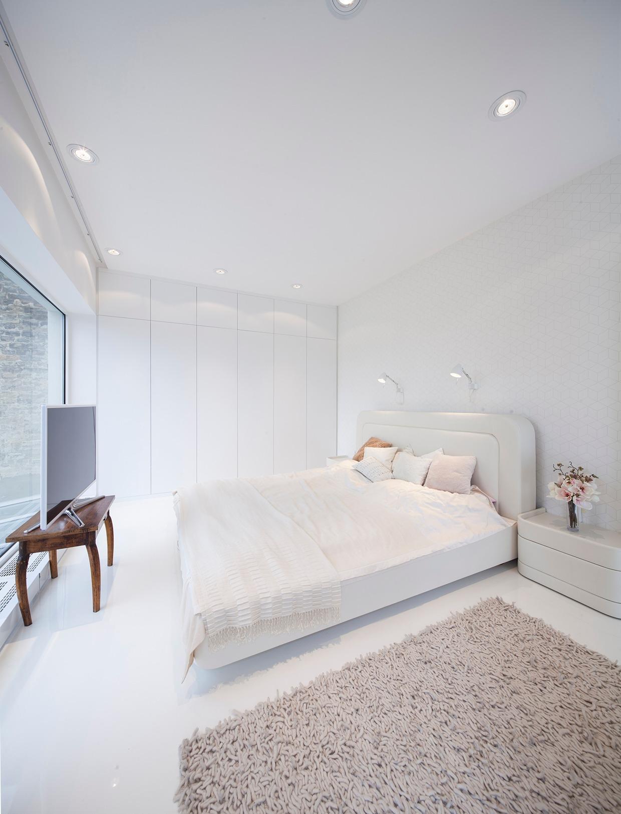 Hungarian Loft Apartment Decor Design Uses a Simple ... on Room Decor Aesthetic id=88534