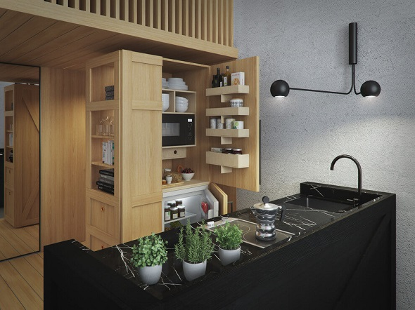 Japanese Kitchen Design Pictures
