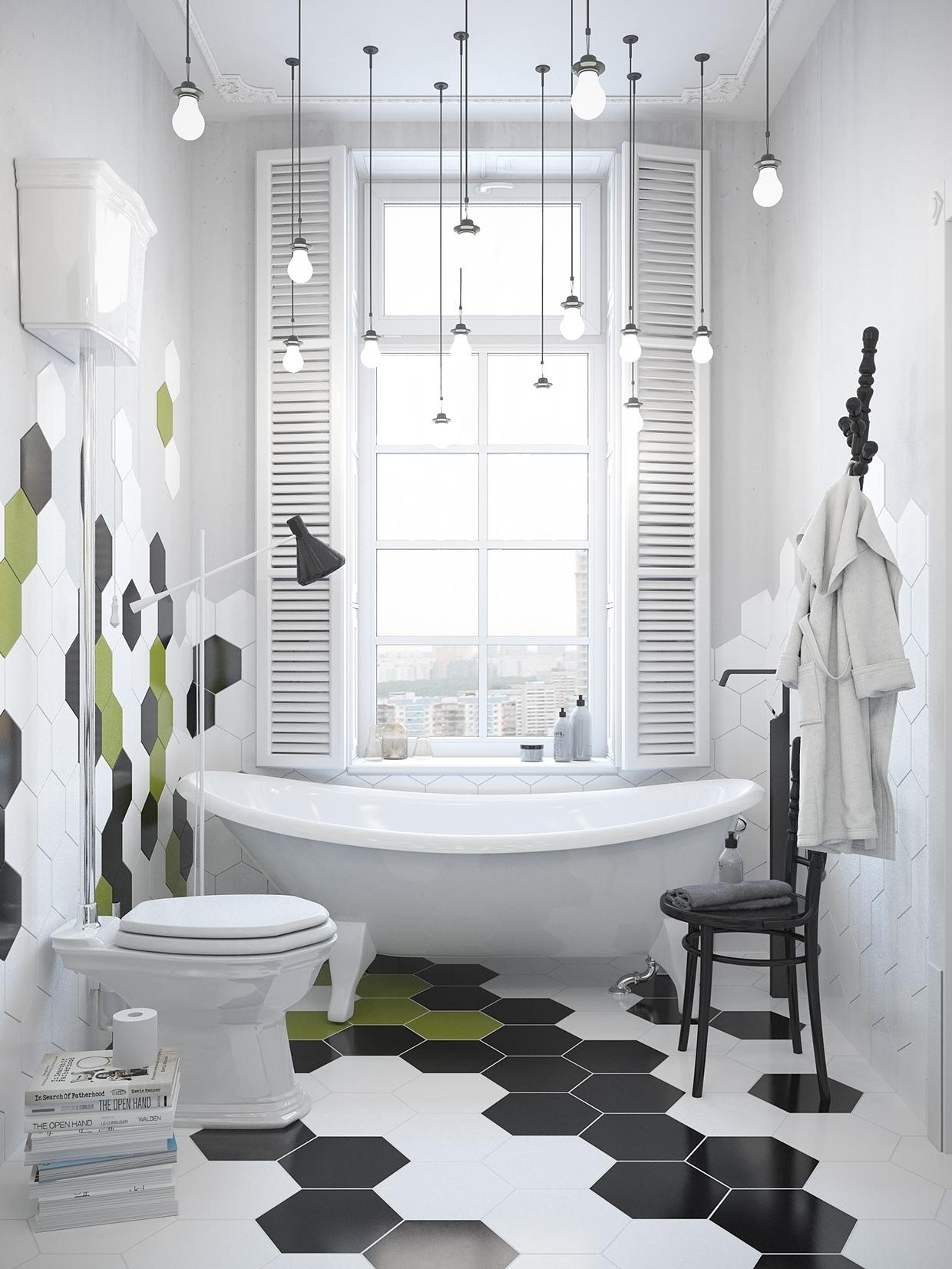 Scandinavian Bathroom Design Ideas With White Color Shade ... on White Bathroom Design Ideas  id=97421