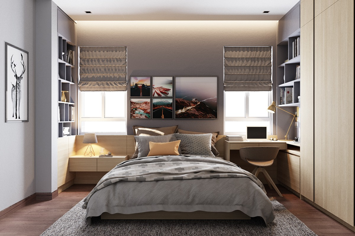 Small Bedroom Designs By Minimalist and Modest Decor Which ... on Bedroom Minimalist Design Ideas  id=47460