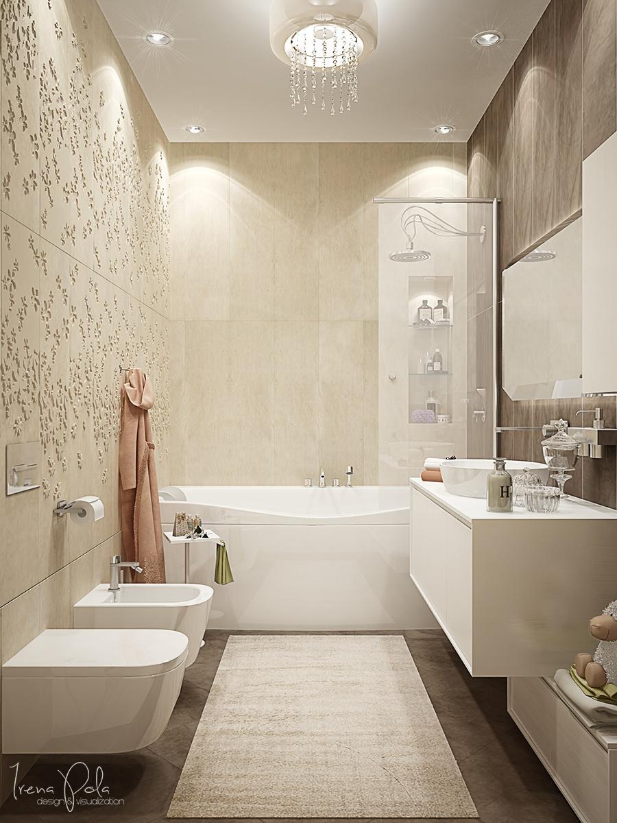 Luxury Bathroom Decorating Ideas With Beautiful a ... on Bathroom Ideas Apartment  id=58703