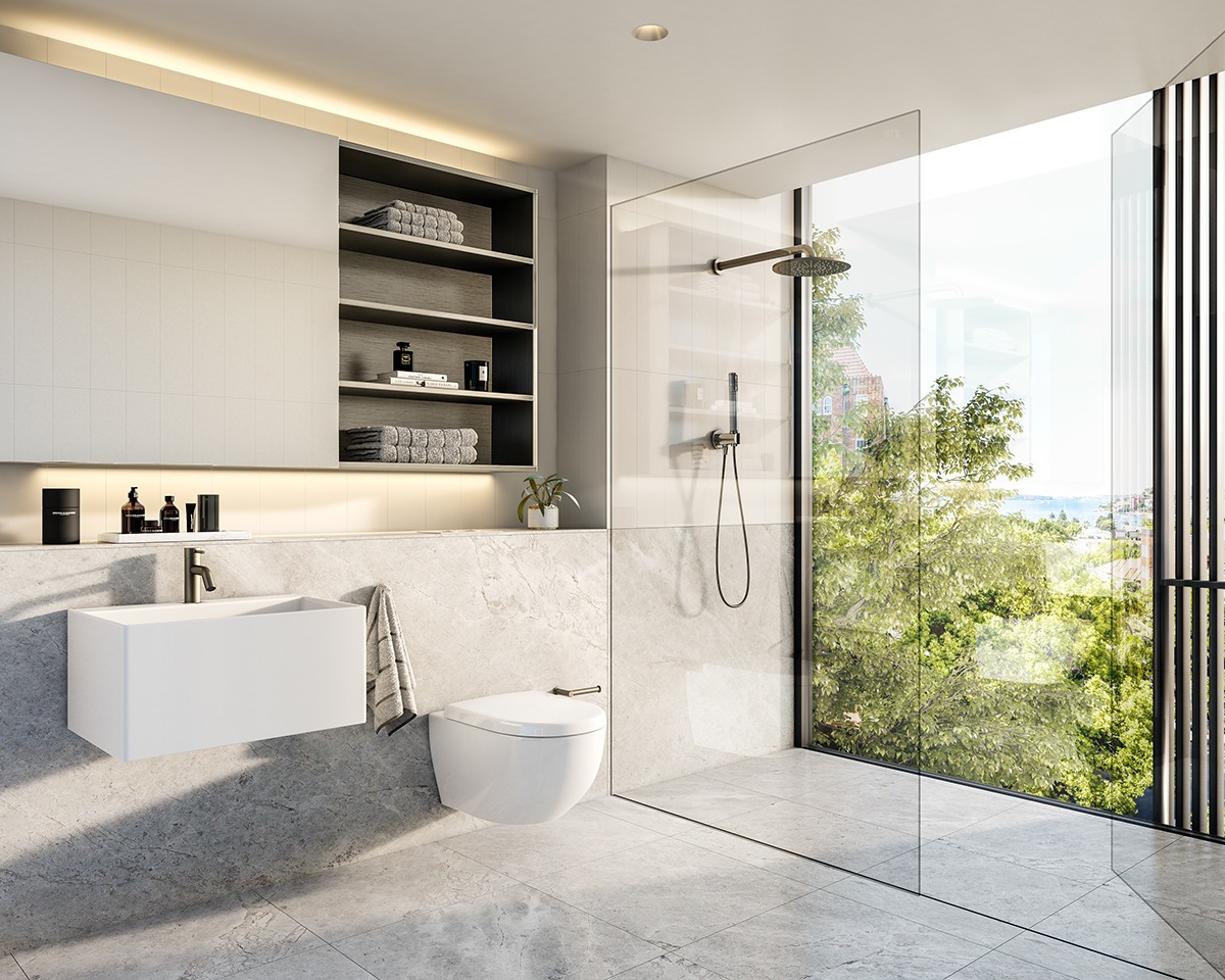Scandinavian Bathroom Design Ideas With White Color Shade ... on White Bathroom Design Ideas  id=71887