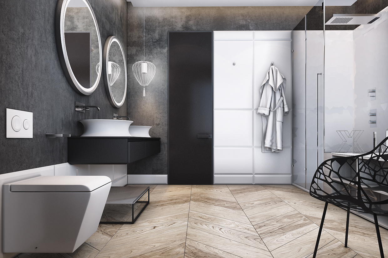 Smart Way To Create Your Small Bathroom Designs Into A Modern And Minimalist RooHome