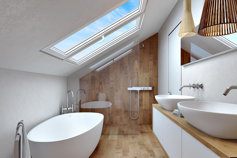 Creative Way To Decorate White Bathroom Designs Beautified ... on White Bathroom Design Ideas  id=68830