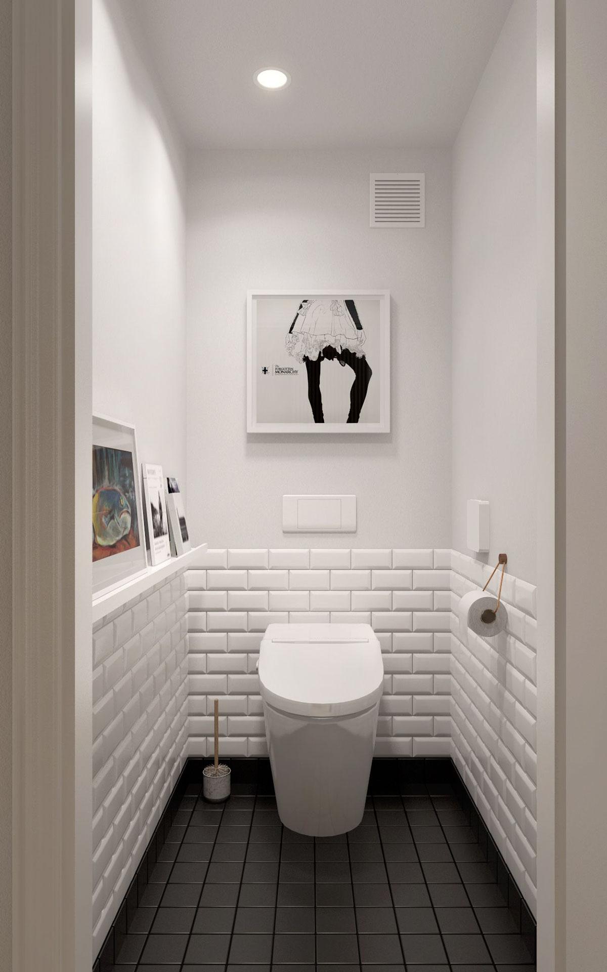 Scandinavian Bathroom Design Ideas With White Color Shade ... on White Bathroom Design Ideas  id=32818