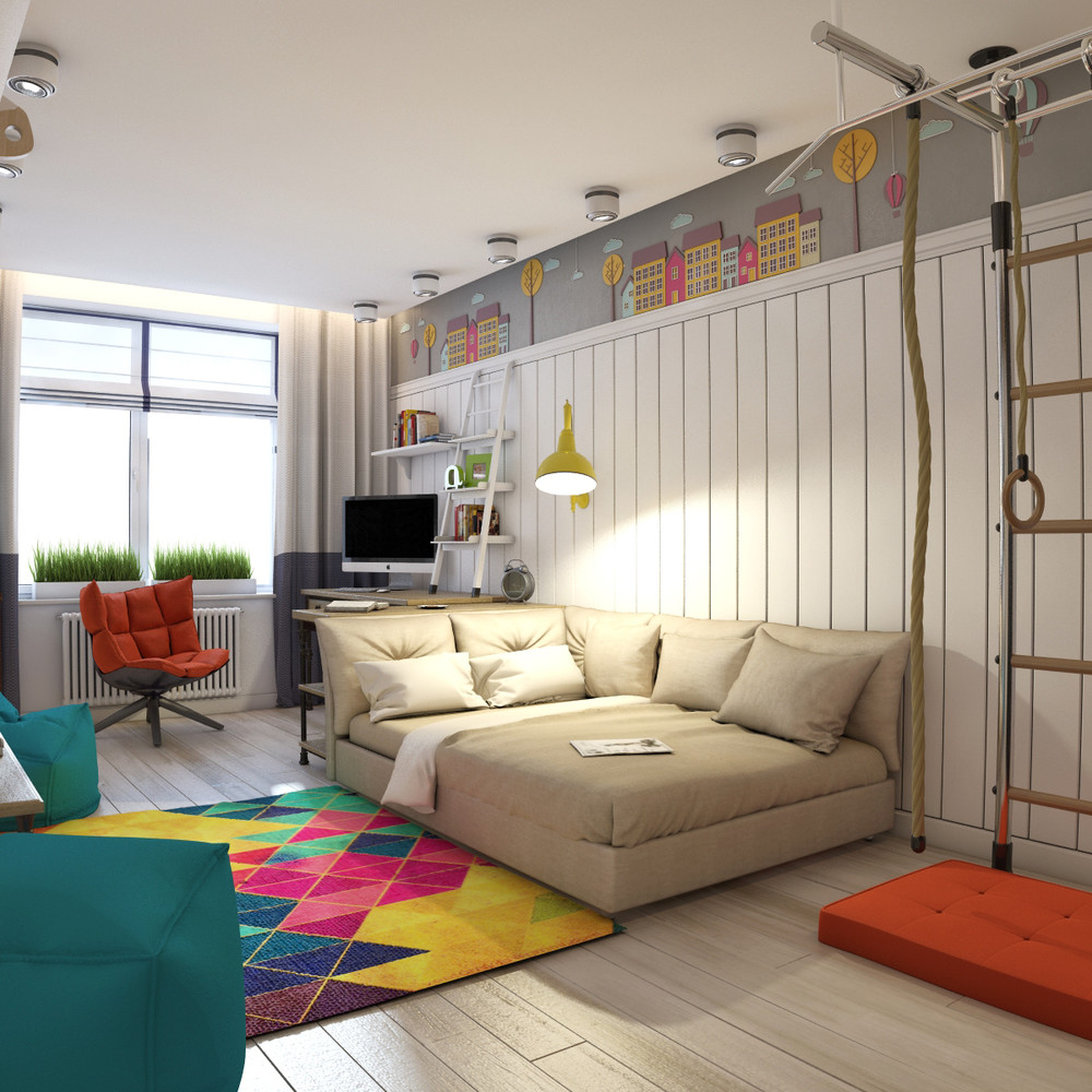 3 Modern Teen Room Designs Decorated With Creative Ideas ... on Teen Room Design  id=77377