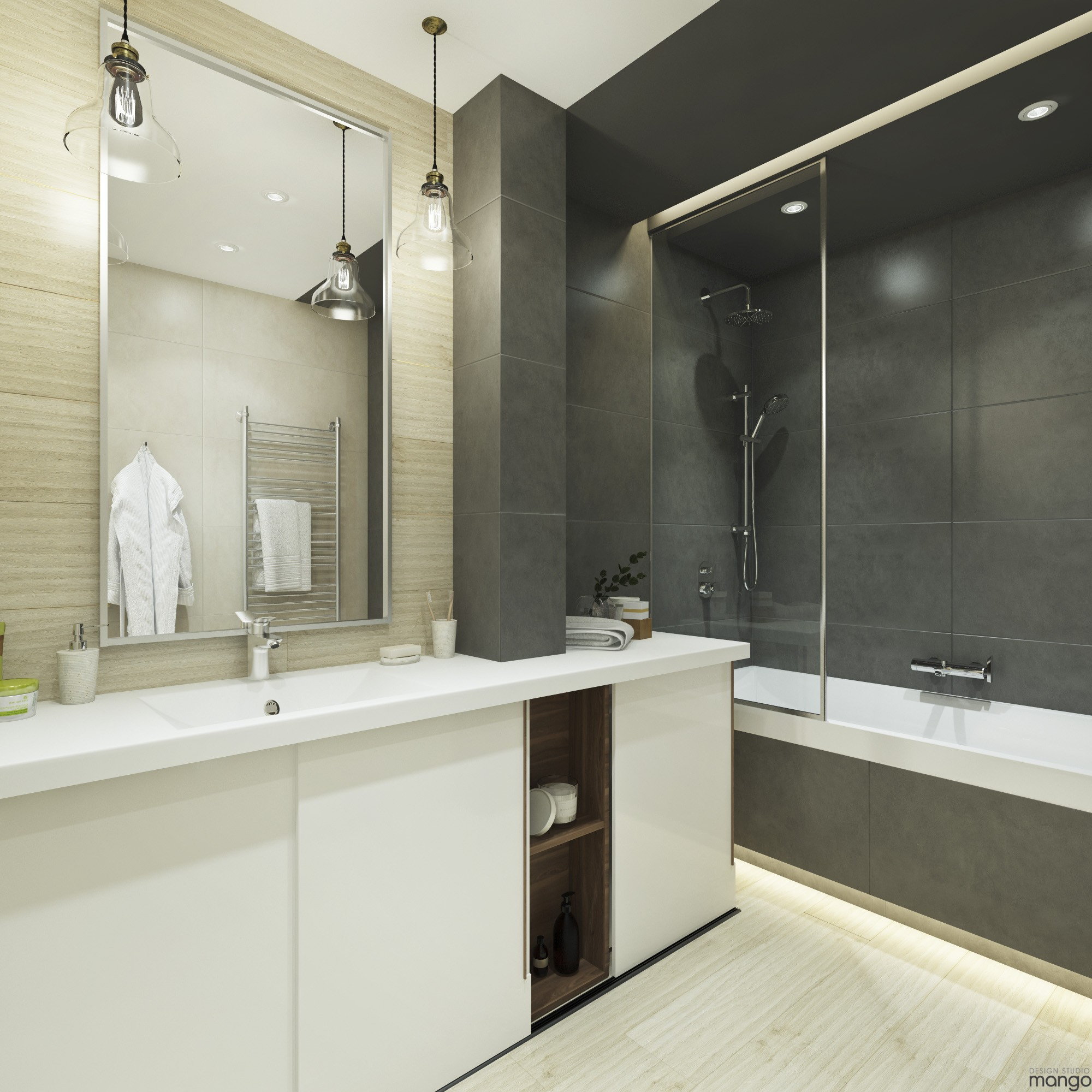 Modern Small Bathroom Designs Combined With Variety of ... on Modern Small Bathroom  id=63625