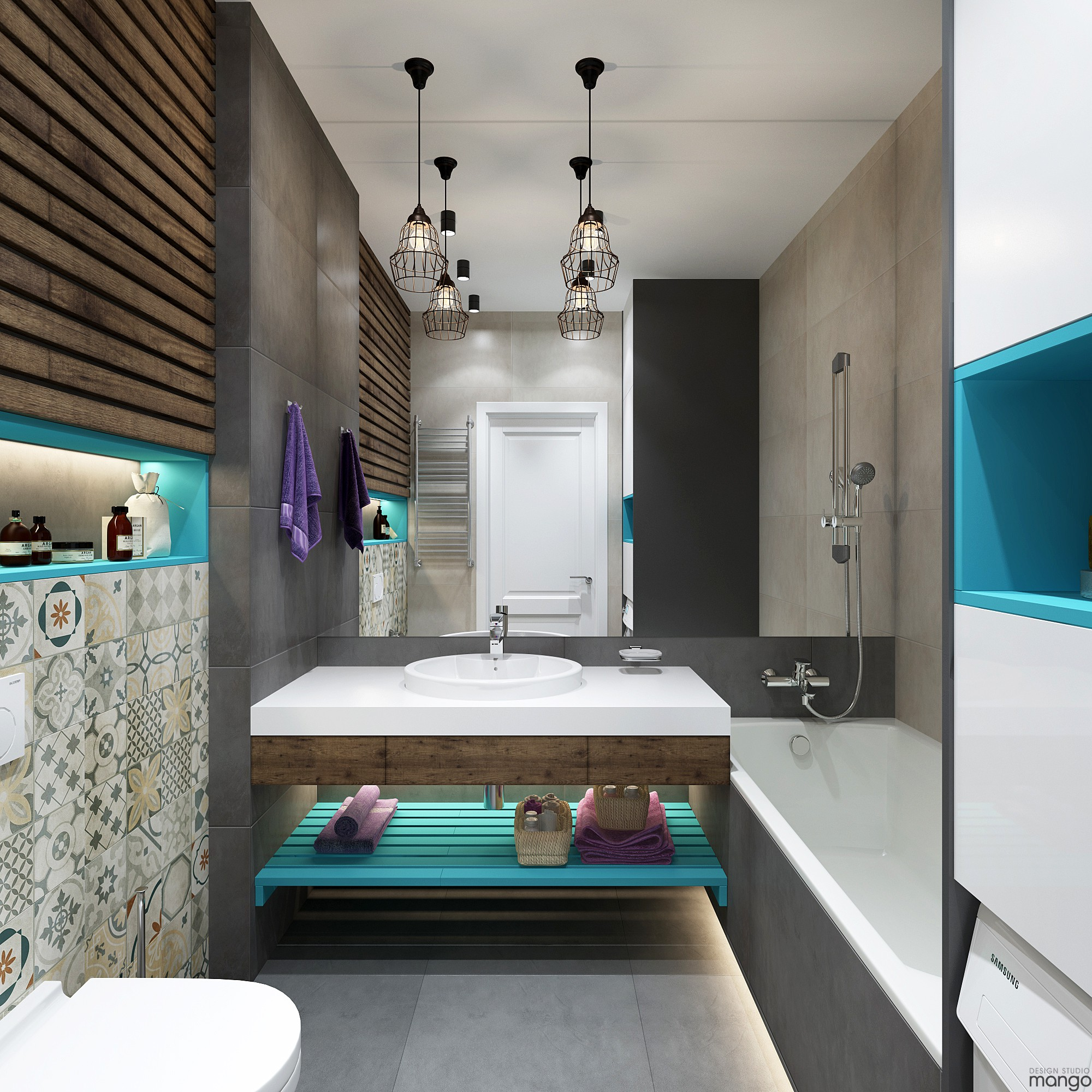 Modern Small Bathroom Designs Combined With Variety of ... on Bathroom Ideas Modern Small  id=71088