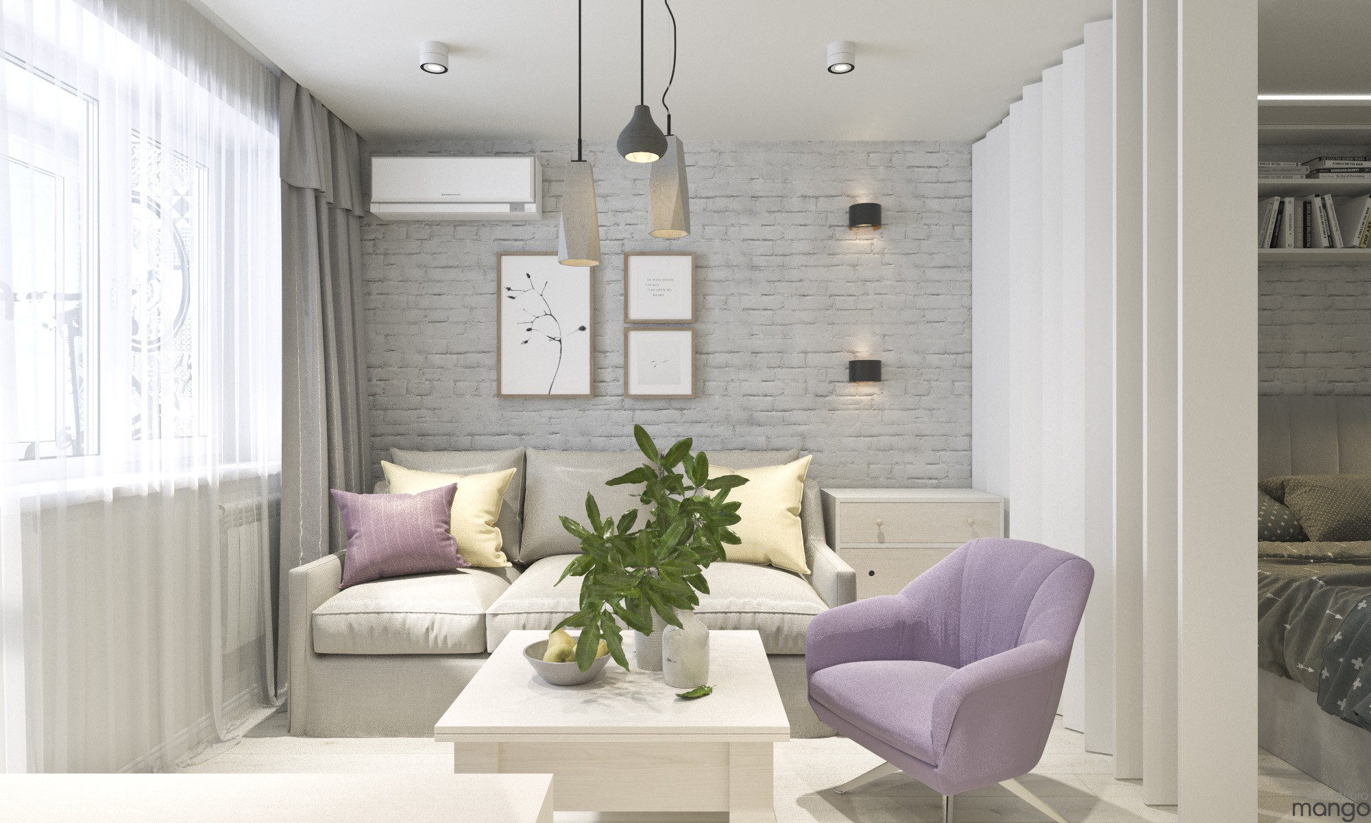 Types of 3 Small Living Room Designs Combined Between ... on Minimalist Room Design  id=78284