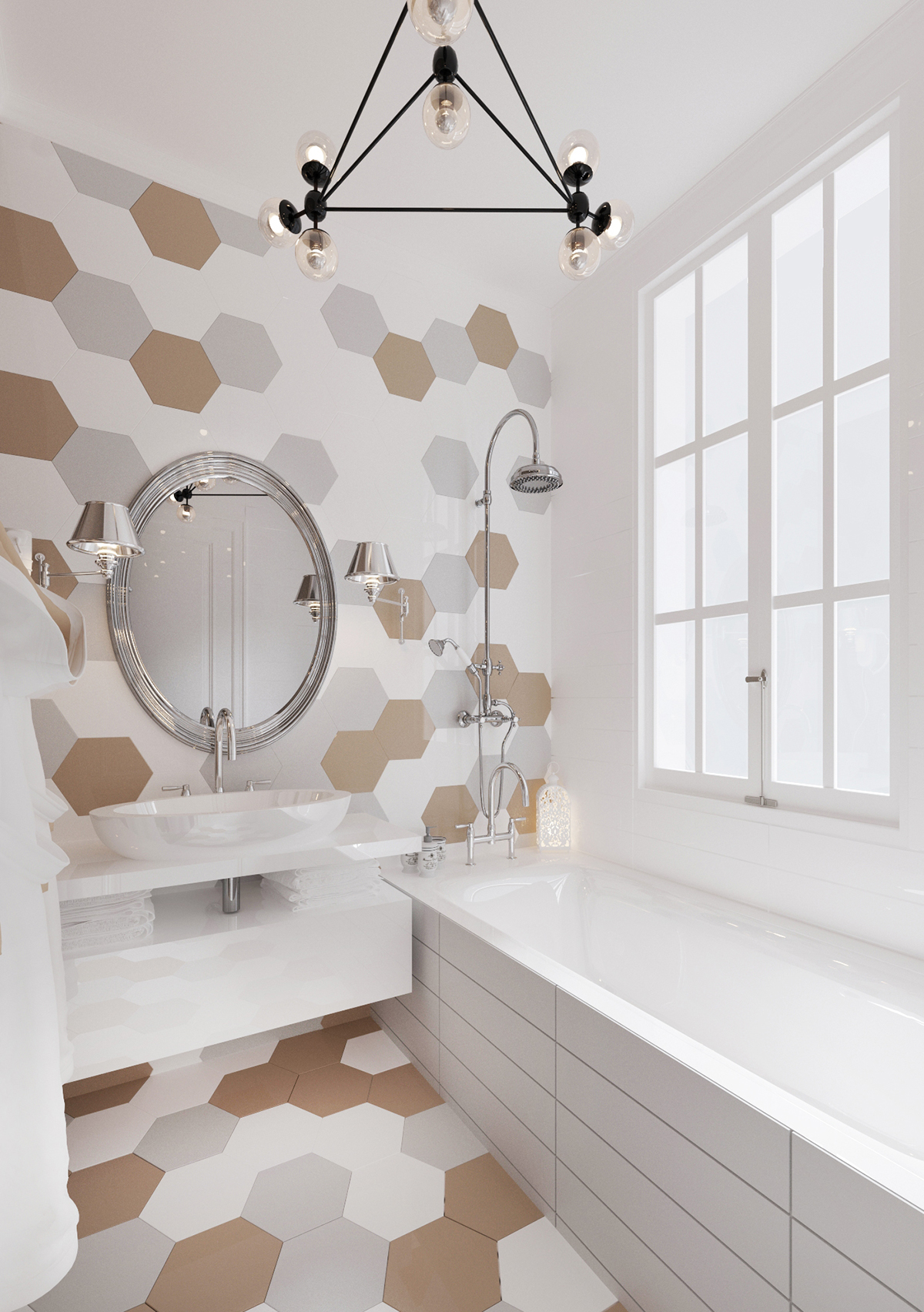 The Best Tips How To Arranged Modern Small Bathroom ... on Modern Small Bathroom Ideas  id=96471