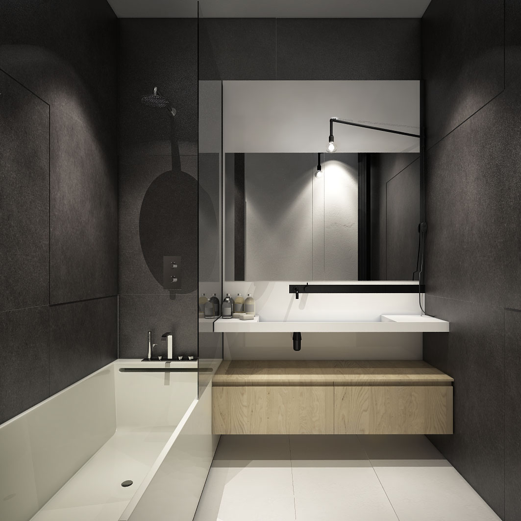 The Best Tips How To Arranged Modern Small Bathroom ... on Modern Small Bathroom  id=24328
