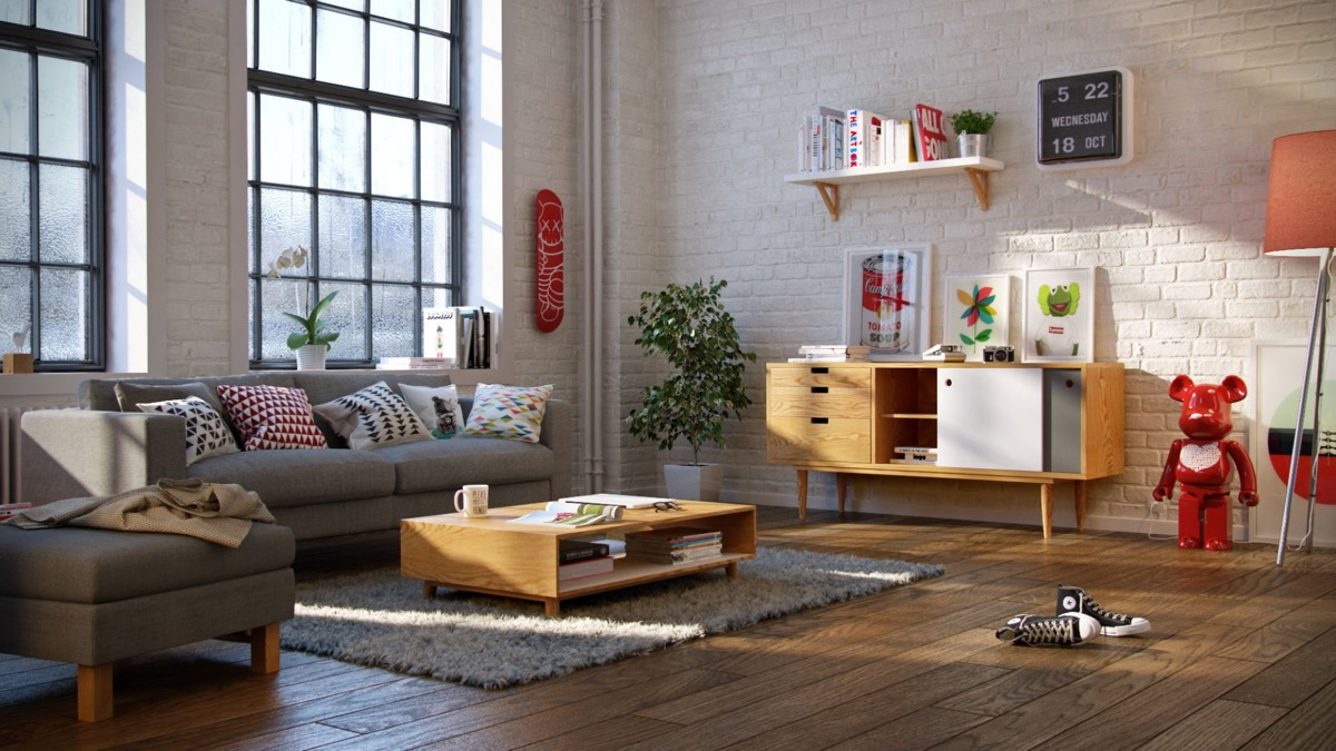Variety of Scandinavian Living Room Designs Looks Perfect ... on Living Room:5J0Grrq-Soy= Curtains Design  id=62765