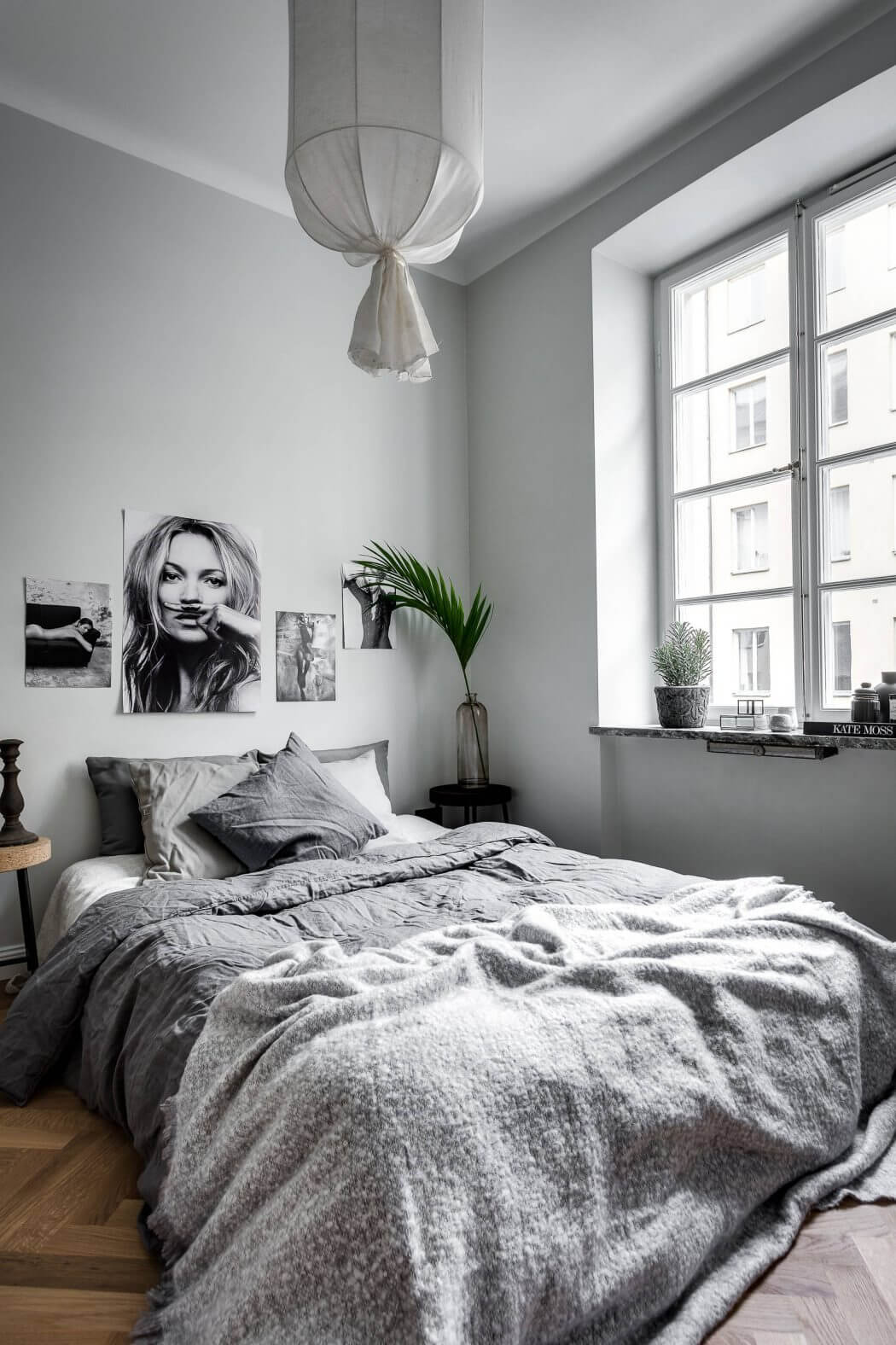 Applying Scandinavian Small Apartment Design Along With ... on Bedroom Ideas Small Room  id=79973