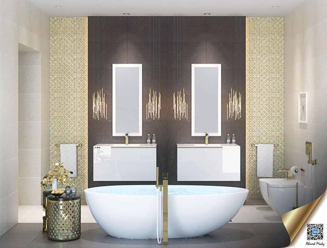 Brilliant Tips How To Arrange Bathroom Design Ideas With ...