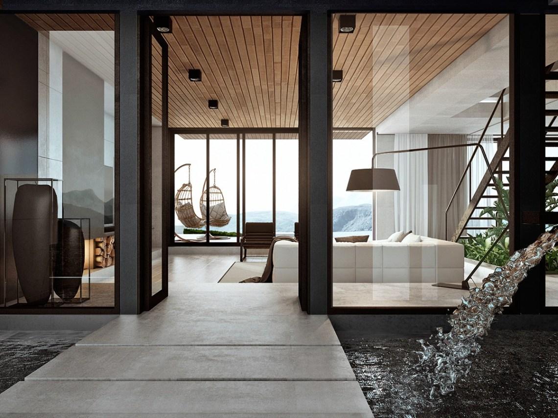 Modern Home Interior Design Arranged With Luxury Decor ...