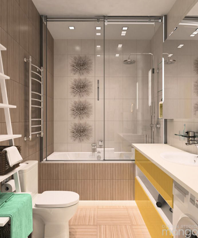 How To Decorate Simple Small Bathroom Designs That Change ... on Simple Small Bathroom Ideas  id=61185