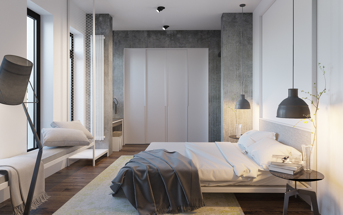 Modern Minimalist Bedroom Designs With a Fashionable Decor ... on Minimalist Bedroom Design  id=43678