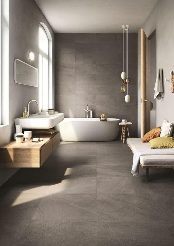 Beautiful Modern Bathroom Designs With With Soft and ...