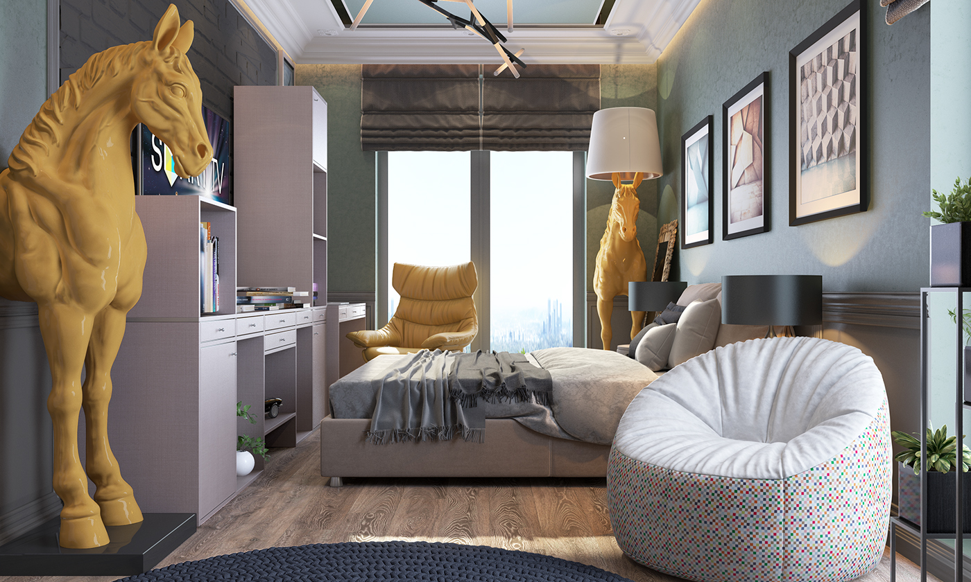 3 Beautiful Bedroom Layouts with Attractive Decor That ... on Beautiful Room Pics  id=82843