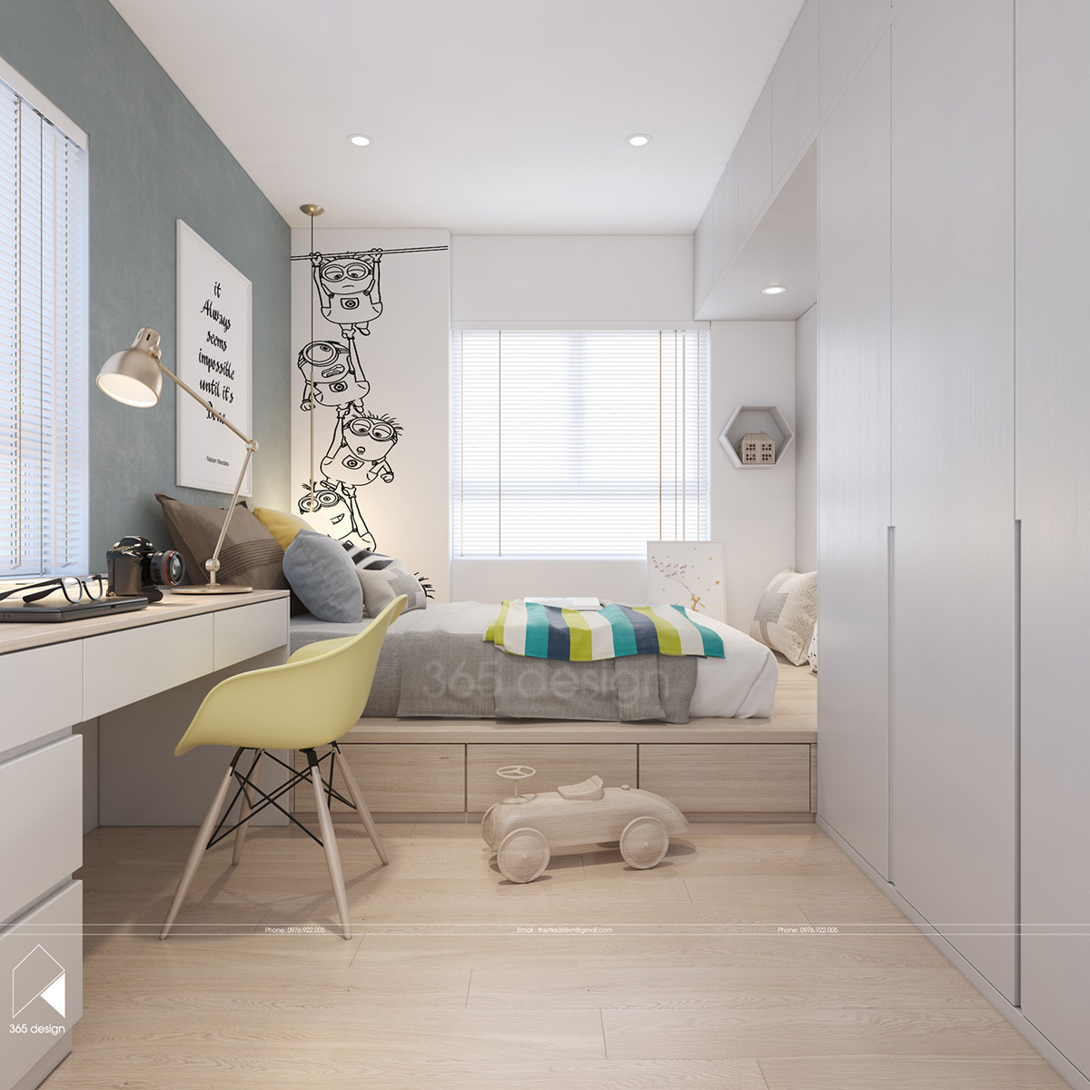 Modern Scandinavian Design for Home Interior Completed ... on Room Decor.  id=12527