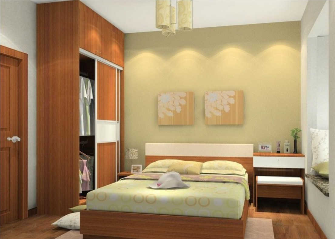 Simple Bedroom Design For Small Space || Check Out the ... on Room Ideas Simple  id=12308