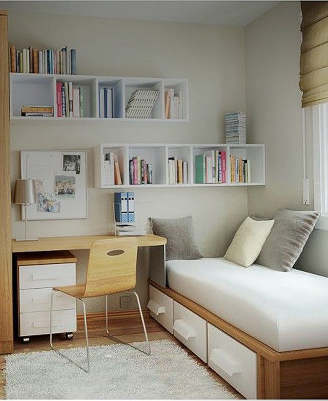 Simple Bedroom Design For Small Space || Check Out the ... on Small Room Ideas  id=73835