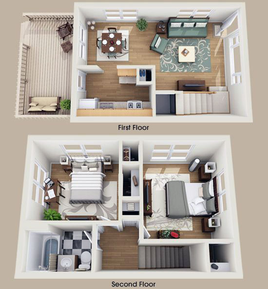 two storey house design plans 1