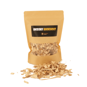 Hickory Rookhout Snippers 1liter voorkant met los