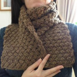 Celtic Stitch Scarf