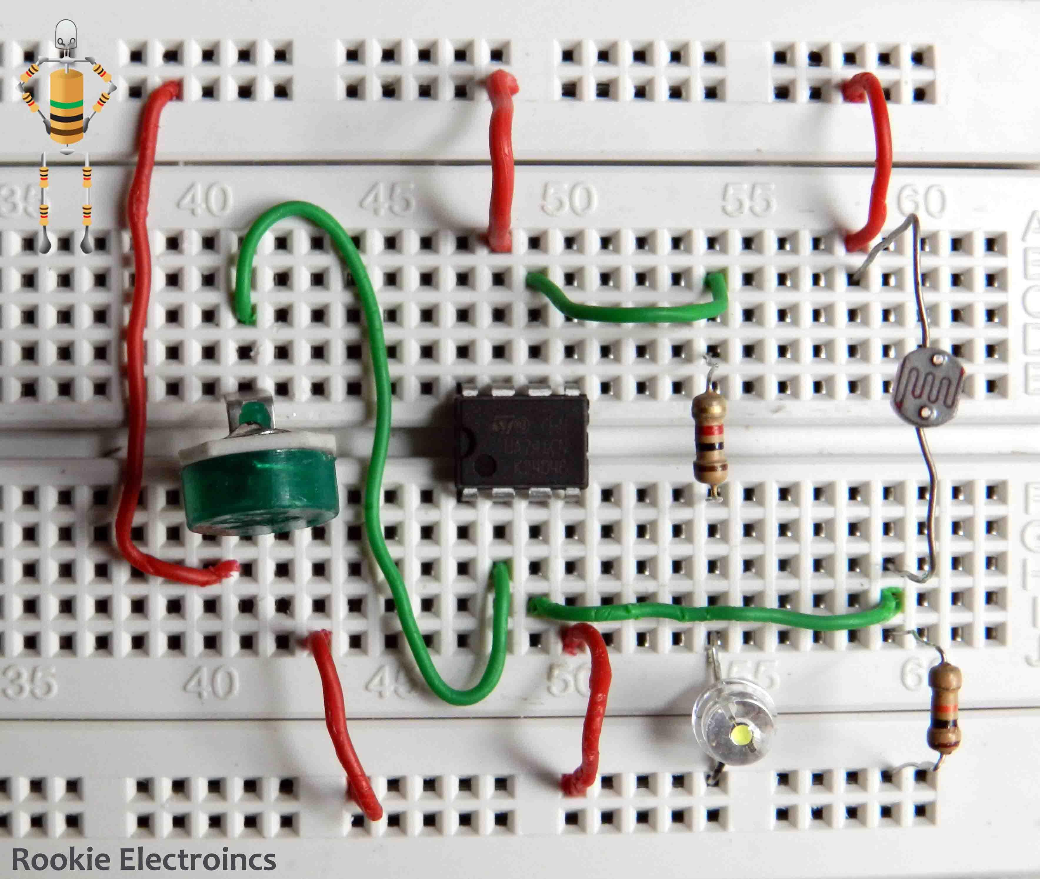 Velleman Traffic Light Circuit Diagram