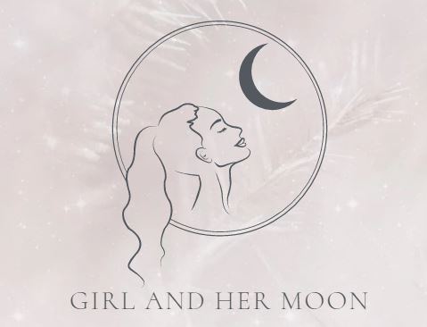 girl and her moon