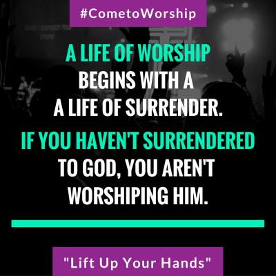 Come to Worship Saying 1