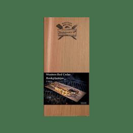 Rookplank Western Red Cedar x2 | Verpakking | Rookplankje.nl