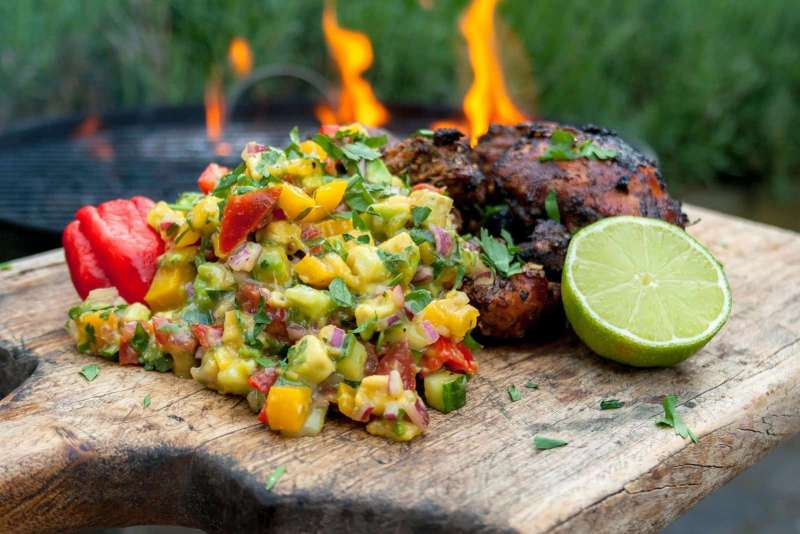 Recept | Jerk Chicken gerookt op Whisky Chunks