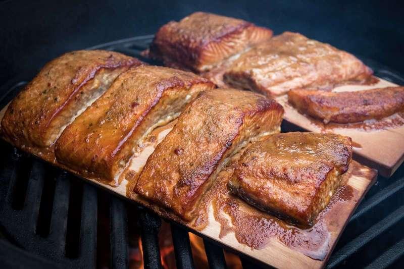 Recept | Aziatische Zalm van de kersen rookplank | Rookplankje.nl