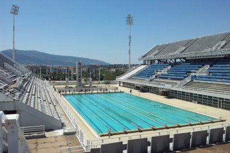 Olympia Schwimmstadion 2004 Athen